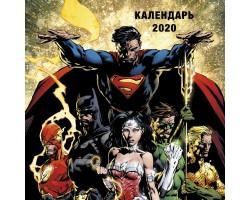Вселенная DC Comics. Календарь настенный на 2020 год (300х300 мм)