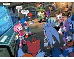 Sonic. Битва за Остров Ангела. Комикс. Том 3