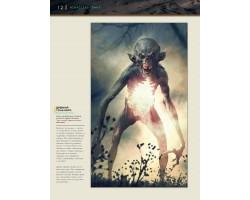 Артбук Искусство Гвинт: Ведьмак