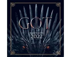 Игра Престолов. Календарь настенный на 2022 год
