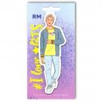 Магнитная закладка BTS Рэп Монстр (RM)
