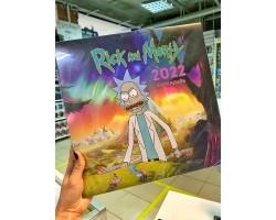 Рик и Морти календарь настенный на 2022 год