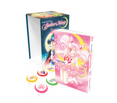 Коллекционный бокс Sailor Moon. Часть 1