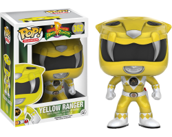 Желтый рейнджер из сериала Могучие рейнджеры