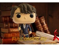 Шерлок со скрипкой из сериала Шерлок