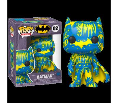 Бэтмен сине-желтый из серии Artist Series (Эксклюзив в протекторе)