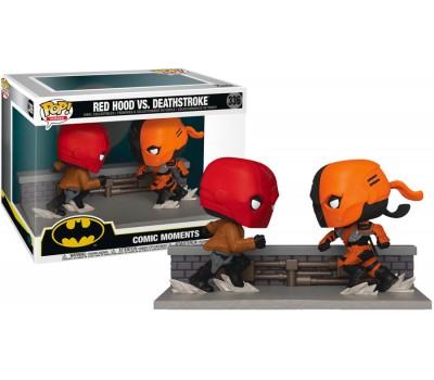 Красный колпак против Дефстроука (Эксклюзив) из комиксов DC