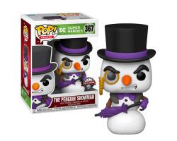Пингвин Снеговик (Эксклюзив Hot Topic) из серии DC Holiday