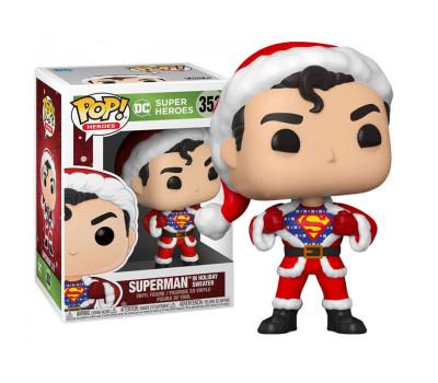 Супермен в рождественском свитере из серии DC Holiday