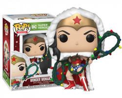 Чудо-женщина с гирляндой из серии DC Holiday