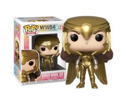 Чудо-женщина в золотой броне металлик из фильма Чудо-женщина: 1984