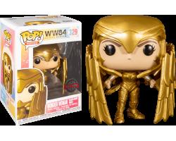 Чудо-женщина в золотой броне со щитом (Эксклюзив Hot Topic) из фильма Чудо-женщина: 1984