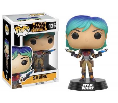 Сабин Врен из сериала Star Wars: Rebels