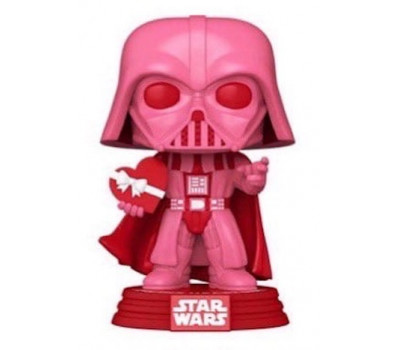 Дарт Вейдер с сердцем из серии Star Wars: Valentines