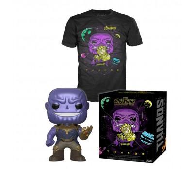Фигурка и футболка Танос из фильма Мстители: Война бесконечности