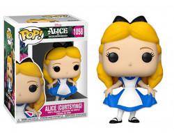 Алиса делает реверанс из мультфильма Алиса в Стране Чудес