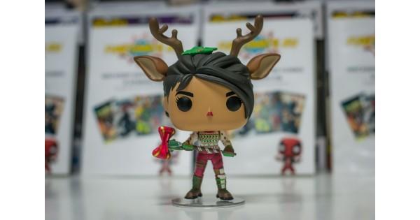 - funko pop fortnite reindeer