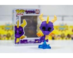 Спайро в полете из игры Spyro the Dragon