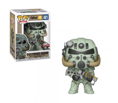 Зеленая силовая броня T-51 (Эксклюзив) из игры Fallout 76
