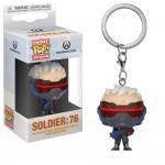 Брелок (Keychain) Солдат 76 из игры Overwatch