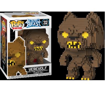 Волк 8-bit из игры Измененный зверь