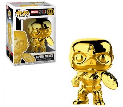 Капитан Америка - Хромированное золото