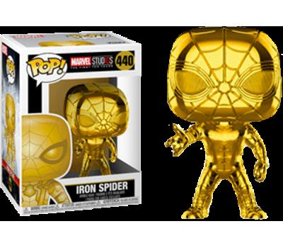 Человек-Паук - Хромированное золото