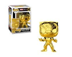 Чёрная Пантера  - Хромированное золото