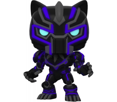 Черная Пантера Меха светящийся (Эксклюзив) из серии Marvel Avengers Mech Strike