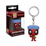 Брелок (Keychain) Дэдпул время для купания брелок из вселенной Marvel