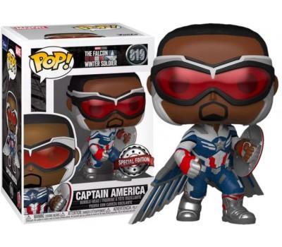 Сокол (новый Капитан Америка) с крыльями из сериала Сокол и Зимний Солдат