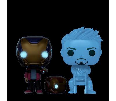 Голограмма Тони Старка и Морган (Эксклюзив Pop-In-A-Box) из фильма Мстители: Финал