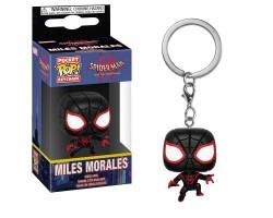 Брелок (Keychain) Майлз Моралес из мультфильма Человек-паук: Через вселенные