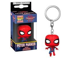 Брелок (Keychain) Питер Паркер из мультфильма Человек-паук: Через вселенные