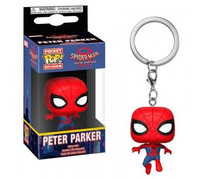 Брелок Питер Паркер из мультфильма Человек-паук: Через вселенные