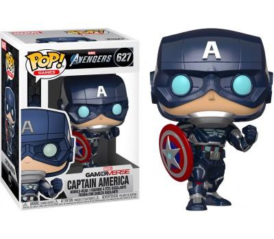 Капитан Америка из игры Мстители Marvel