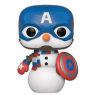 Рождественский Снеговик Капитан Америка