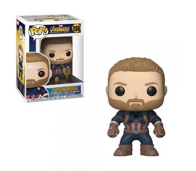 Капитан Америка из фильма Мстители: Война бесконечности