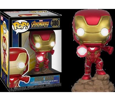 Железный человек из вселенной Marvel (светящийся эксклюзив)