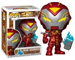 Железный человек х Тор светящийся из комиксов Искажения бесконечности Марвел