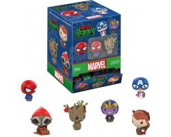 Пинт сайз рождественские фигурки  (Marvel Holiday)