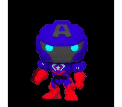 Капитан Америка Меха светящийся (Эксклюзив) из серии Marvel Avengers Mech Strike