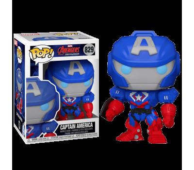 Капитан Америка Меха из серии Marvel Avengers Mech Strike