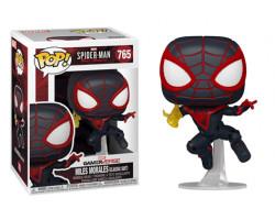 Майлз Моралеc в классическом костюме из игры Человек-паук: Майлз Моралес