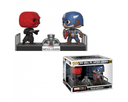 Movie Moments - Красный череп и Капитан Америка