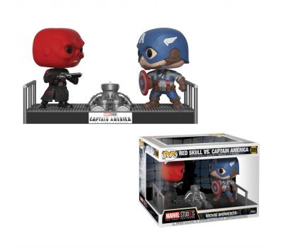 Красный череп и Капитан Америка
