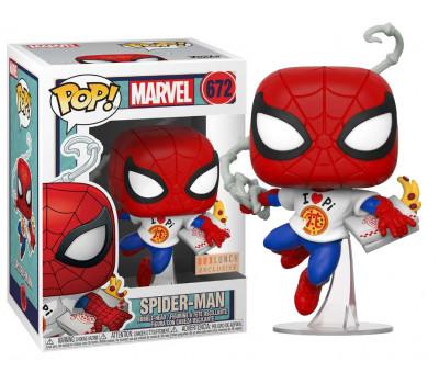 Человек-Паук с пиццей (Эксклюзив со стикером BoxLunch)