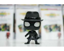 Человек-паук Нуар в шляпе из мультфильма Человек-паук: Через вселенные