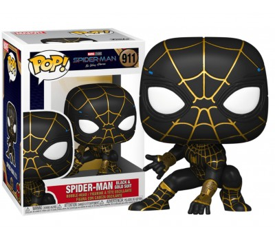 Человек-Паук в черно-золотом костюме из фильма Человек-паук: Нет пути домой