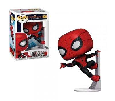 Человек-паук в обновленном костюме из фильма Человек-паук: Вдали от дома